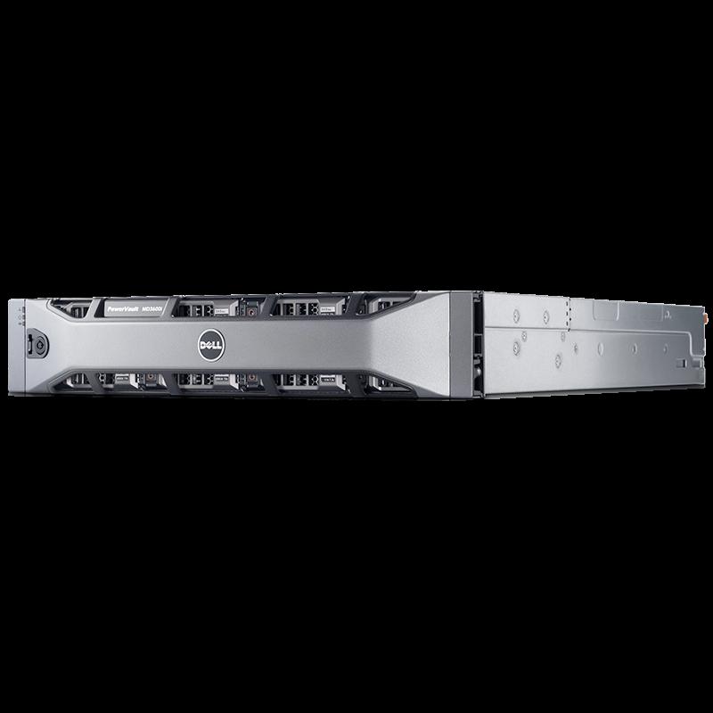 """Дисковый массив Dell PowerVault MD3600f 3.5"""" FC 8 Гбит/с"""