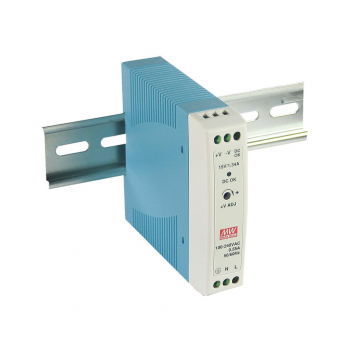 MDR-20-5 Компактный блок питания на DIN-рейку, 5В, 3А, 20Вт Mean Well