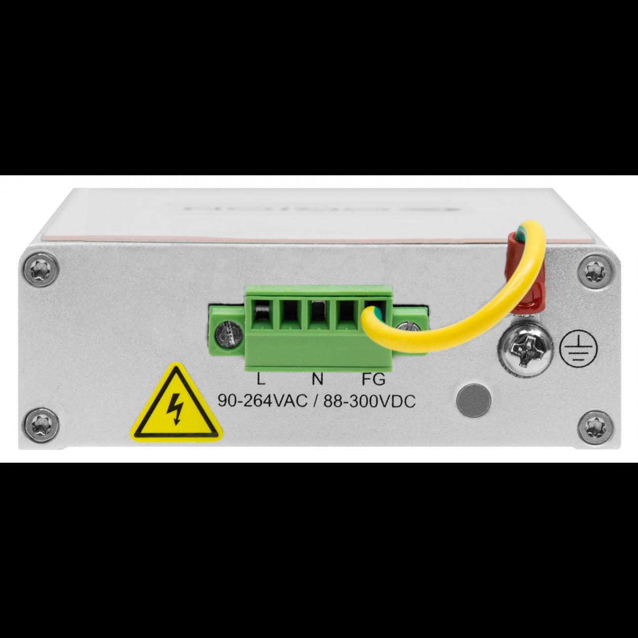 Управляемый индустриальный медиаконвертер 10/100-Base-T / 100Base-FX, 1310нм, 20Км