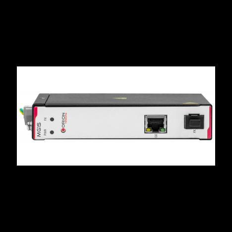 Неуправляемый индустриальный медиаконвертер 1000-Base-T / 1000Base-FX(SFP)