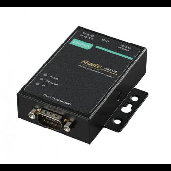 Преобразователь MGate MB3180 1-портовый преобразователь Modbus RTU/ASCII (RS-232/422/485) в Modbus TCP