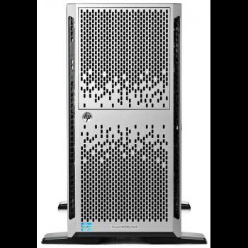 Сервер HP ProLiant ML350p G8, 1 процессор Intel 6C E5-2620 2.0GHz, 8GB DRAM, 8SFF, P420i/512MB FBWC