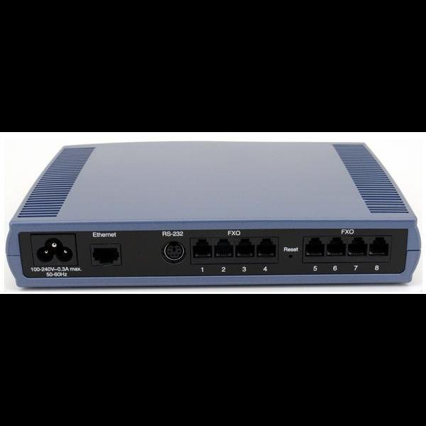 Шлюз аналоговый голосовой Audiocodes MediaPack118/8O/SIP