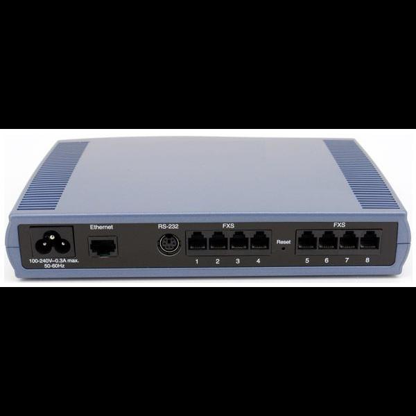 Шлюз аналоговый голосовой Audiocodes MediaPack118/8S/SIP