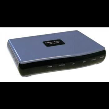 Шлюз Audiocodes MediaPack 202B, 2 порта FXS, протокол SIP, б/у