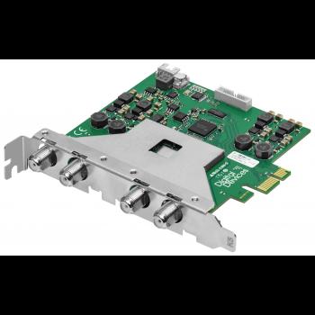 Карта 8-тюнерного приемника DVB-S2X PCIe