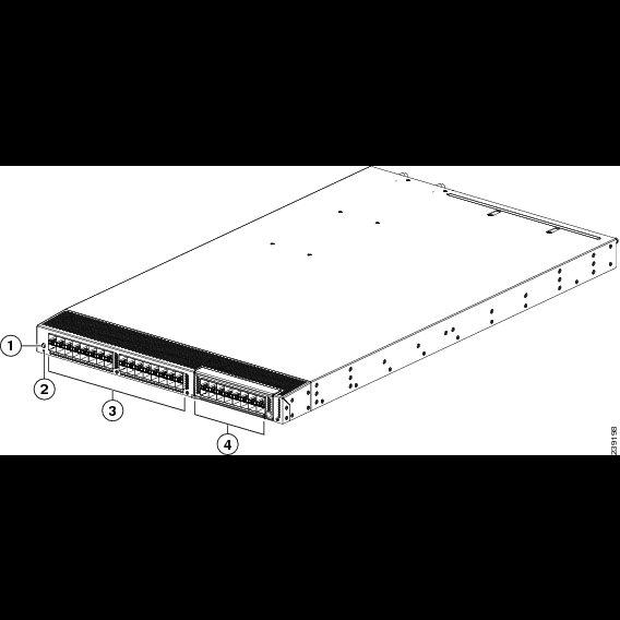 Коммутатор Cisco Nexus N5K-C5548P-FA