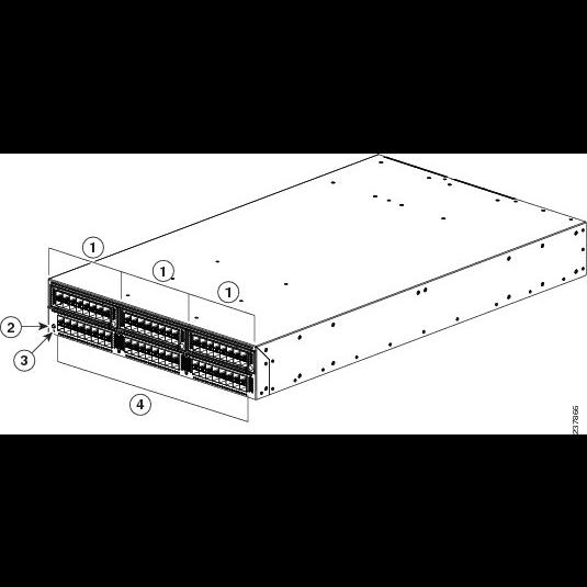 Коммутатор Cisco Nexus N5K-C5596UP-FA