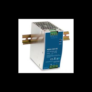 NDR-240-48 Блок питания на DIN-рейку, 48В, 5А, 240Вт Mean Well
