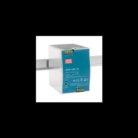 NDR-480-24 Блок питания на DIN-рейку, 24В, 20 А, 480Вт Mean Well