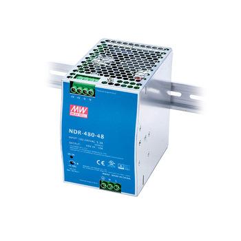 NDR-480-48 Блок питания на DIN-рейку, 48В, 10 А, 480Вт Mean Well