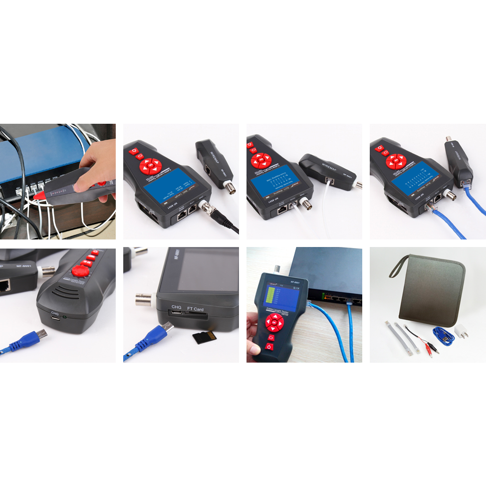 Многофункциональный кабельный тестер Noyafa NF-8601