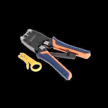 Инструмент NIKOMAX обжимной профессиональный для коннекторов RJ45, RJ12, RJ11