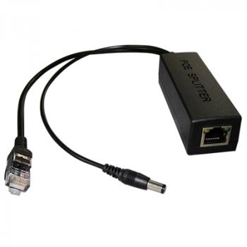 1-портовый сплиттер NetPing PoE 802.3af 10/100Mbps, 12В/1А