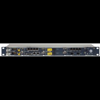 Мультисервисная платформа серии Neptune, 1U, 16x1G портов, 4x10G, питание DC