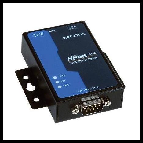 NPort 5130 RU 1-портовый асинхронный сервер RS-422/485 в Ethernet MOXA