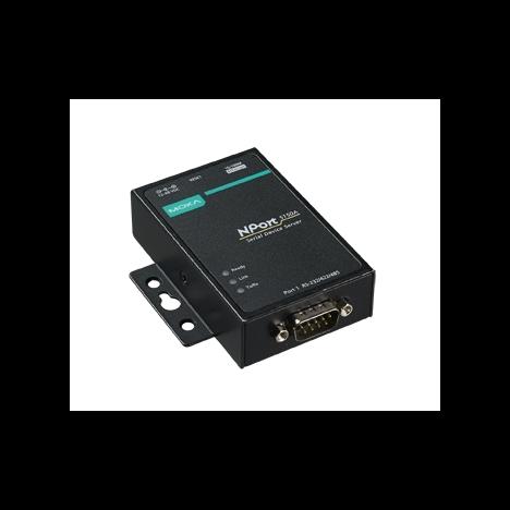 NPort 5130A-T 1-портовый усовершенствованный асинхронный сервер RS-422/485 в Ethernet с расширенным диапазоном температур MOXA