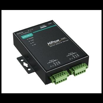 NPort 5230A 2-портовый усовершенствованный преобразователь RS-422/485 в Ethernet