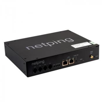 Устройство NetPing 4/PWR-220 v3/SMS