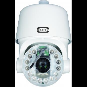 Поворотная IP камера OMNY 2030-IR PTZ AT 2.0Мп c автотрекингом, с 30х оптическим увеличением c ИК подсветкой, наст. кронтш и БП24АС в компл (уценка)