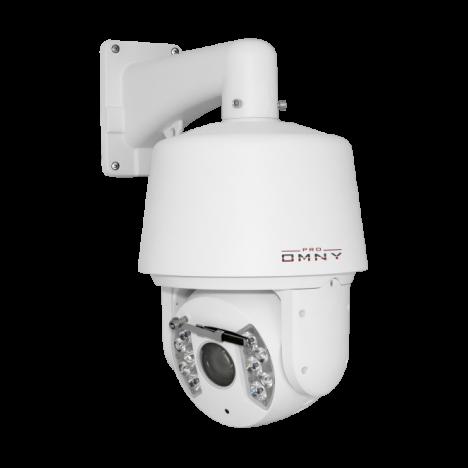 Проектная IP камера OMNY 2030-IR PTZ STARLIGHT cкоростная купольная поворотная 2.0Мп  30х зум,ИК подсветка до 150м,с аналитикой, 24V AC
