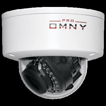 Проектная купольная IP камера OMNY 3000 PRO  3Мп/25кс, H.265, управл. IR, моториз.объектив 2.8-12мм, 12В/PoE, встроенный микрофон (имеет сколы)