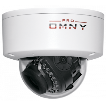 Проектная купольная IP камера OMNY 4000 PRO  4Мп/25кс, H.265, управл. IR, моториз.объектив 2.8-12мм, 12В/PoE, встроенный микрофон
