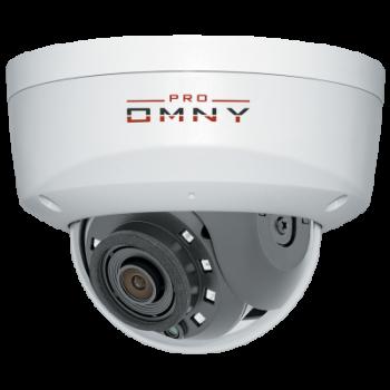 IP камера OMNY A12F 28 антивандальная купольная OMNY PRO серии Альфа, 2Мп c ИК подсветкой, 12В/PoE 802.3af, microSD, 2.8мм (имеет потертости)