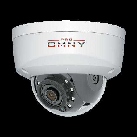 IP камера OMNY A12F 28 S41 антивандальная купольная OMNY PRO серии Альфа, 2Мп c ИК подсветкой, 12В/PoE 802.3af, встр.мик/EasyMic, microSD, 2.8мм