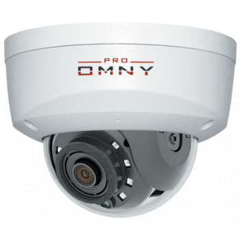 IP камера OMNY A12F 28 антивандальная купольная OMNY PRO серии Альфа, 2Мп c ИК подсветкой, 12В/PoE 802.3af, встр.мик/EasyMic, microSD, 2.8мм