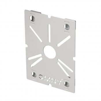 Адаптер для монтажной коробки ACC UB v2 для установки VF камер OMNY, толщина 1.5мм, белый