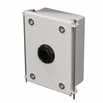 Универсальная монтажная коробка для PTZ камер OMNY, монтаж на стену, толщина 1.5мм, белый