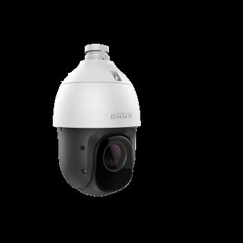 Поворотная камера OMNY F22E x25, 2Мп (1920×1080) 30к/с, с 25х опт.увел., 12±1В (DC), 802.3at, 8-128Гб MicroSD, ИК до 150м, аудио вх/вых, EasyMic, IP66