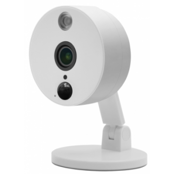 IP камера OMNY BASE LUNA2 Dual Band офисная 2Мп (1920x1080) 30к/с, 2.8мм, F1.8, 802.3af A/B, 5±1В DC, ИК до 10м, встр.микр и динамик, MicroSD до 128Гб