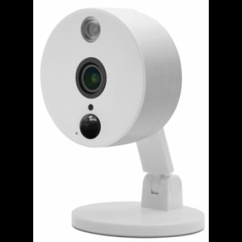 IP камера OMNY BASE LUNA2 офисная 2Мп (1920x1080) 30к/с, 2.8мм, F1.8, 802.3af A/B, 12±1В DC, ИК до 10м, встр.микр и динамик, DWDR, MicroSD до 128Гб