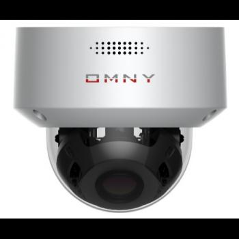 IP камера OMNY PRO M25F 27135 купольная 5Мп (2592x1944) 30к/с, 2.7-13.5мм мотор, встр.микр/EasyMic, аудиовыход, 802.3af A/B, 12±1В DC, ИК до 50м