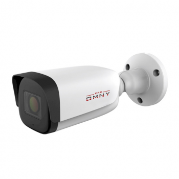 IP камера OMNY PRO M85N 2812 буллет 5Мп (2592x1944) 20к/с, 2.8-12мм мотор., F1.6-3.3, встр. микр., 802.3af A/B, 12±1В DC, ИК до 80м, microSD до 512Гб