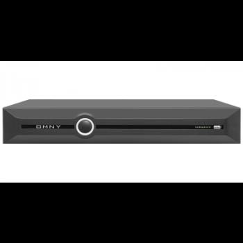 IP Видеорегистратор сетевой OMNY PRO 80 каналов, вх/исх битрейт 400/200Mbits, 8xHDD до 10Тб, 2xHDMI/VGA, RAID (0,1,5,10), трев вх/вых  16/4 (уценка)