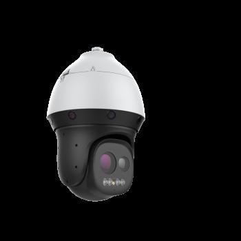 Панорамная поворотная камера IP OMNY P4F1A-Wx44 8Мп, лазерная ИК до 800м, 24VAC, объектив 5мм