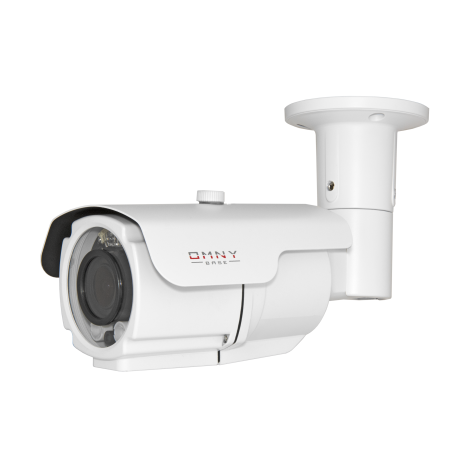 IP камера видеонаблюдения OMNY серия  BASE ViBe2 уличная 2Мп, 2.8-12мм, 12В/PoE, ИК до 50м, EasyMic