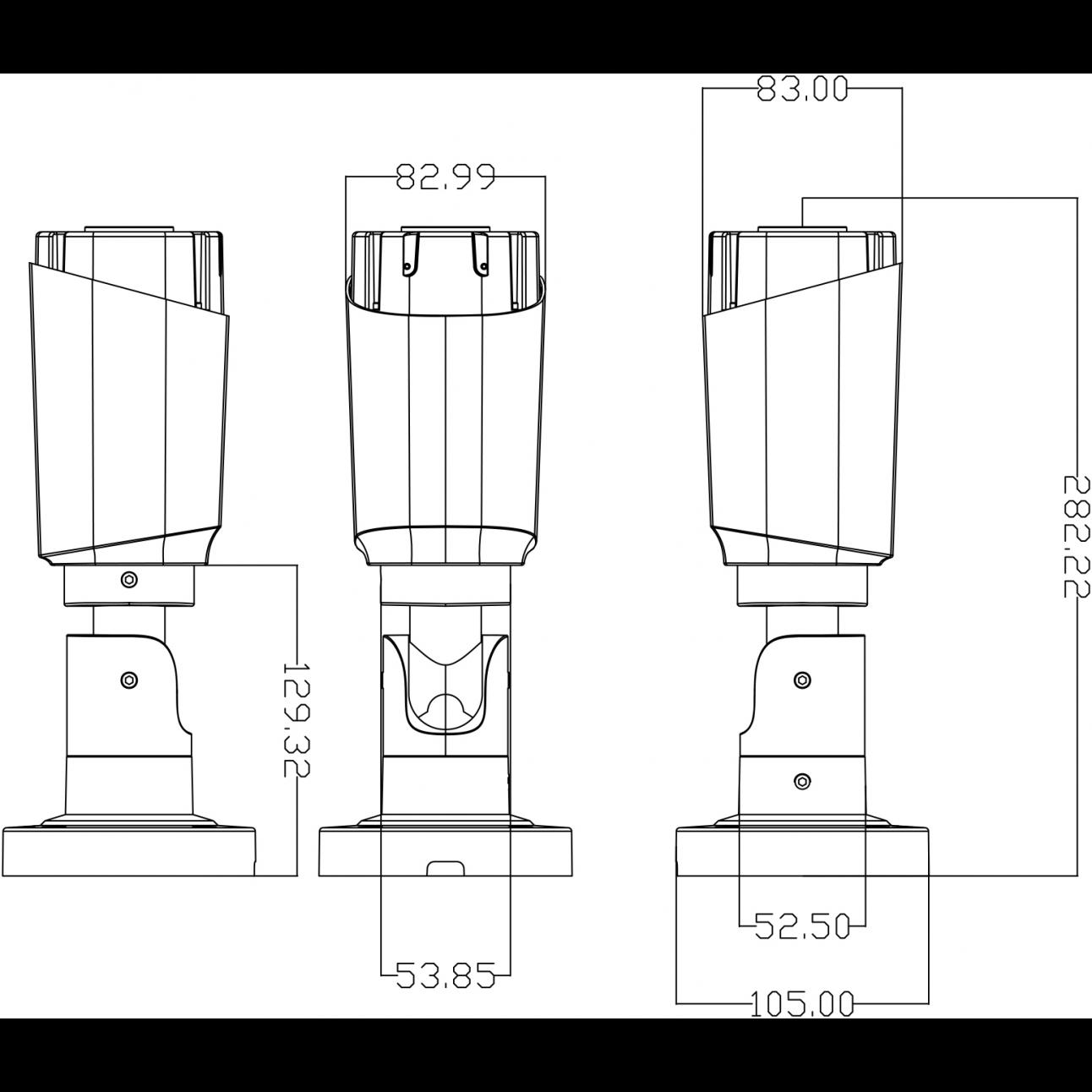 IP камера видеонаблюдения OMNY серия  BASE ViBe2 Starlight уличная 2Мп, мотор. объектив 2.8-12мм, 12В/PoE, ИК до 50м, EasyMic