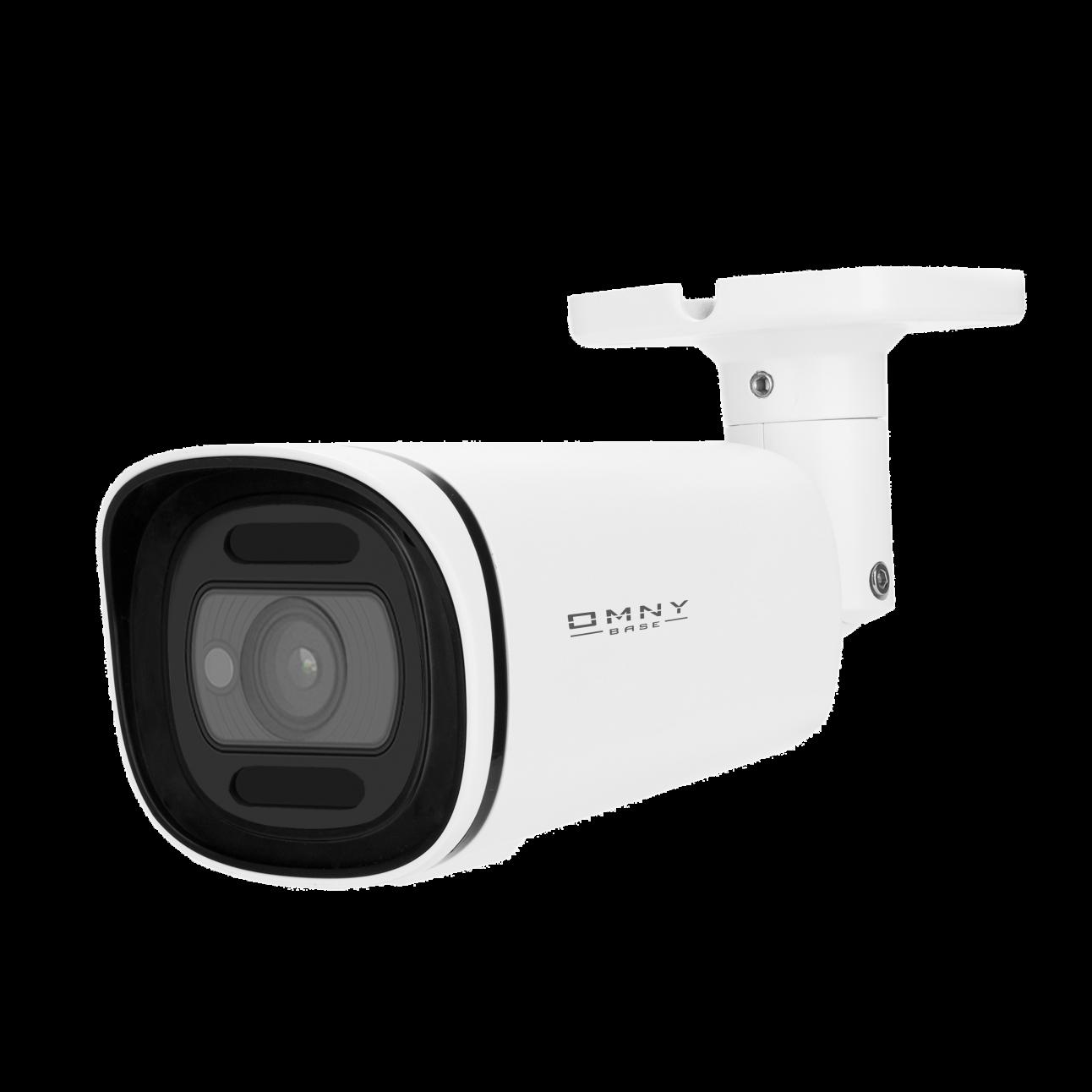 IP камера OMNY BASE ViBe5EZ-WDU, буллет, 5Мп (2592x1944), 25к/с, 2.7-13.5мм мотор. объектив, EasyMic, 12В DC, 802.3af, ИК до 50м, WDR 120dB, USB2.0