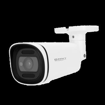IP камера OMNY BASE ViBe5EZ-WDU, буллет, 5Мп (2592x1944), 30к/с, 2.7-13.5мм мотор. объектив, EasyMic, 12В DC, 802.3af, ИК до 50м, WDR 120dB, USB2.0
