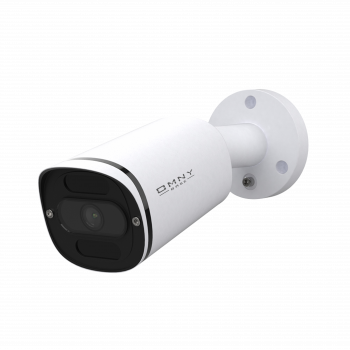 IP камера OMNY miniBullet5EZ-WDU серии BASE, буллет, 2592x1944 25кс, 2.8;8мм моторизованный, EasyMic, 12В DC; 802.3af, ИК до 30м, WDR 120dB, USB2.0
