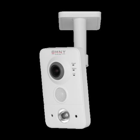 IP камера видеонаблюдения OMNY серия BASE miniCUBE W: офисная 1.3 Мп, Wi-Fi, PoE, 12 В, микрофон, динамик, блок питания в комплекте (уценка)