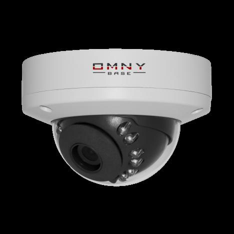 IP камера видеонаблюдения OMNY серия BASE miniDome купольная 1.0 Мп, 2.8 мм, PoE,12 В, ИК