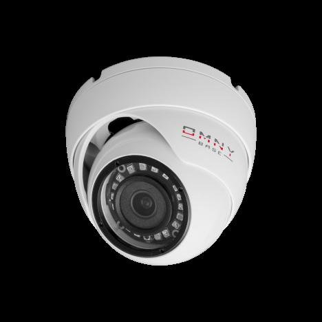 IP камера OMNY BASE miniDome2-WDU v3 миникупольная 2Мп (1920x1080) 30к/с, 2.8мм, F1.8, 802.3af A/B, 12±1В DC, ИК до 25м, EasyMic (имеет потертости)
