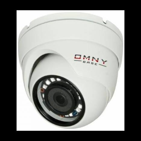 IP камера OMNY BASE miniDome2E миникупольная 2Мп (1920×1080) 25к/с, 2.8мм, F1.8, 802.3af A/B, 12±1В DC, ИК до 25м, DWDR (неполная комплектация)