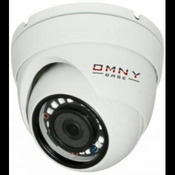 IP камера OMNY BASE miniDome2E v1.1 S41, 2Мп (1920×1080) 25к/с,2.8мм,F1.8, 802.3af A/B, 12±1В DC, ИК до 25м, встр.микр, DWDR, без microSD/USB