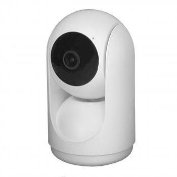 IP камера OMNY BASE miniPTZ2T-2DB поворотная, 2Мп, 2.8мм, F1.8, 2.4ГГц и 5ГГц, встр. микр. и динамик, 5±1В DC, microSD, ИК до 7м